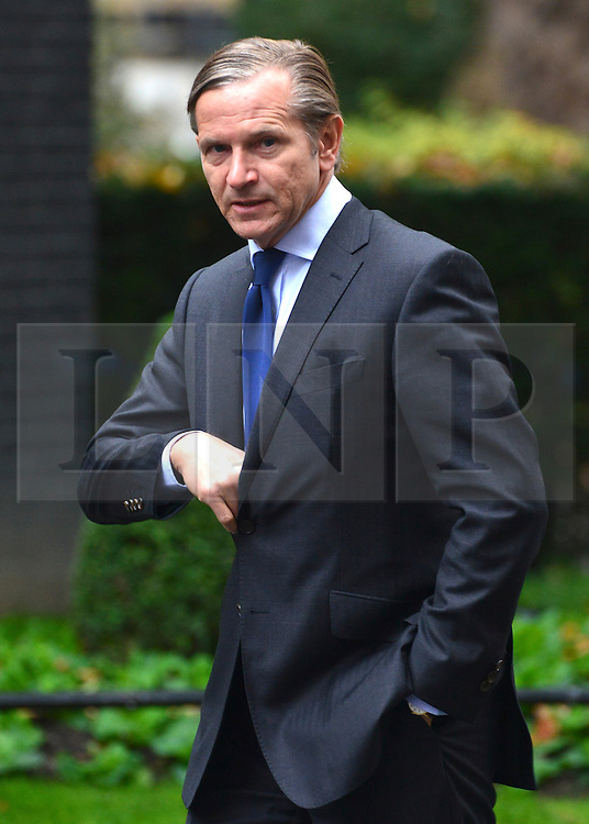 © Licensed to London News Pictures. 23/10/2012. Westminster, UK Marc Bolland the current CEO of Marks and Spencer Group plc on 10 Downing Street today 23 October 2012. Photo credit : Stephen Simpson/LNP