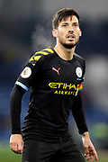 Manchester City midfielder David Silva (21) during the Premier League match between Burnley and Manchester City at Turf Moor, Burnley, England on 3 December 2019.