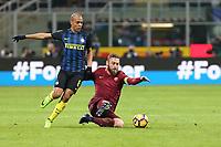 26.02.2016 - Milano  Serie A 2016/17 - 26a   giornata  -  Inter-Roma  nella  foto: Daniele De Rossi - Roma Calcio
