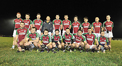 Shrule-Glencorrib's south Mayo Junior B Winners after victory over Garrymore in Ballinrobe friday night last.<br /> Pic Conor McKeown