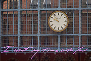 "The new artwork entitled 'I Want My Time With You' by British (Britpop) artist Tracy Emin hangs over the main concourse at St. Pancras Station, on 10th April 2018, in London, England. In the sixth year of the Terrace Wires Commission - and in celebration of the 150th anniversary of St Pancras International and the 250th anniversary of the Royal Academy of Arts, at one of London's mainline station, the London hub for Eurostar - the 20 metre-long greeting to commuters reads 'I Want My Time With You' and Emin thinks that arriving by train and being met by a lover as they put their arms around them, is very romantic."" The Brexit-opposing artist also said she wanted to make ""a statement that reaches out to everybody from Europe arriving in to London""."