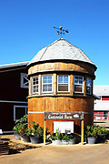 The Silo Building at Orange County Fair Centennial Farm