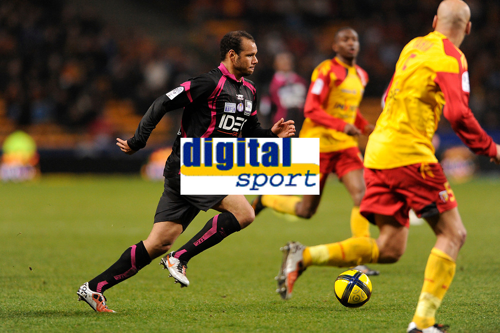 FOOTBALL - FRENCH CHAMPIONSHIP 2010/2011 - L1 - RC LENS v TOULOUSE FC  - 12/03/2011 - PHOTO JULIEN CROSNIER / DPPI - DANIEL BRAATEN (TFC)