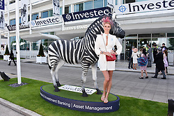 Jodie Kidd at the 2d day of The Investec Derby Festival - Derby Day, Epsom Racecourse, Epsom, Surrey, UK. 01 June 2019.