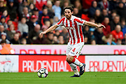 Stoke City midfielder Joe Allen (4) during the Premier League match between Stoke City and Chelsea at the Bet365 Stadium, Stoke-on-Trent, England on 18 March 2017. Photo by Jon Hobley.