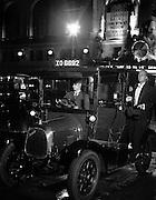 Taxi in Lower Regent Street, 1934