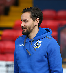 Edward Upson of Bristol Rovers checks out the pitch - Mandatory by-line: Arron Gent/JMP - 07/03/2020 - FOOTBALL - Roots Hall - Southend-on-Sea, England - Southend United v Bristol Rovers - Sky Bet League One