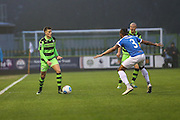 Forest Green Rovers Charlie Cooper(20) runs forward during the Vanarama National League match between Forest Green Rovers and Dover Athletic at the New Lawn, Forest Green, United Kingdom on 17 December 2016. Photo by Shane Healey.