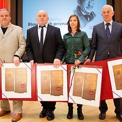 20130212: SLO, Sports events- 48. Podelitev Bloudkovih priznanj za leto 2012