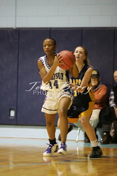 Page Tournament.Varsity Girls vs Rappahannock.Fourth Period.December 29, 2004