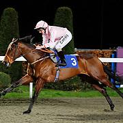 Dark Castle and Liam Keniry winning the 5.45 race