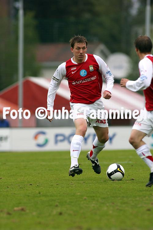 15.05.2008, Anjalankoski, Finland..Veikkausliiga 2008 - Finnish League 2008.Myllykosken Pallo47 - FC TPS Turku.Tarmo Neemelo - MyPa.©Juha Tamminen.....ARK:k