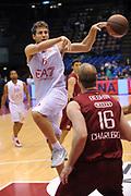 DESCRIZIONE : Milano Eurolega 2011-12 EA7 Emporio Armani Milano Belgacom Spirou Charleroi<br /> GIOCATORE : Stefano Mancinelli<br /> CATEGORIA : Passaggio Penetrazione<br /> SQUADRA : EA7 Emporio Armani Milano<br /> EVENTO : Eurolega 2011-2012<br /> GARA : EA7 Emporio Armani Milano Belgacom Spirou Charleroi<br /> DATA : 14/12/2011<br /> SPORT : Pallacanestro <br /> AUTORE : Agenzia Ciamillo-Castoria/A.Dealberto<br /> Galleria : Eurolega 2011-2012<br /> Fotonotizia : Milano Eurolega 2011-12 EA7 Emporio Armani Milano Belgacom Spirou Charleroi<br /> Predefinita :