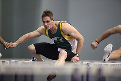 London, Ontario ---11-01-22---   Andrew Vanden Dool of the St.Thomas Legion competes at the 2011 Don Wright meet at the University of Western Ontario, January 22, 2011..GEOFF ROBINS/Mundo Sport Images.
