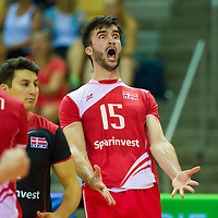 CEV european league Denmark - Austria 2015