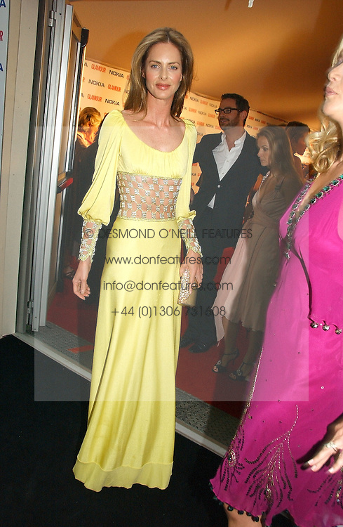 TRINNY WOODALL at the 2006 Glamour Women of the Year Awards 2006 held in Berkeley Square Gardens, London W1 on 6th June 2006.<br />
