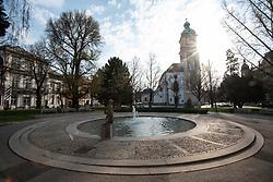 Stolna cerkev Maribor on 29 March 2020 in Maribor, Slovenia. Photo: Milos Vujinovic /Sportida