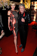 Beau Monde Awards 2012 in het Amstel Hotel, Amsterdam.<br /> <br /> Op de foto:  Jan en Monique des Bouvrie