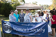 The Abita Springs Women's Society at the Abita Springs Water Festival; November 5, 2017; photo by George H. Long