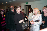 LIZ BREWER, Book launch party for the paperback of Nicky Haslam's book 'Sheer Opulence', at The Westbury Hotel. London. 21 April 2010