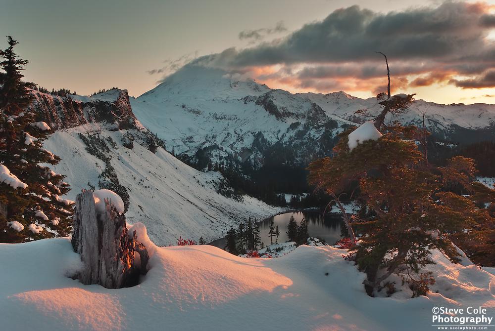 First Snows, Last Light - Mount Baker Wilderness