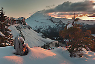 First Snows, Last Light - Mount Baker Wilderness
