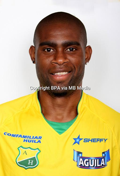 Colombia League - Postobom Liga 2014-2015 -<br /> Club Deportivo Atletico Huila - Colombia / <br /> Cesar Mena
