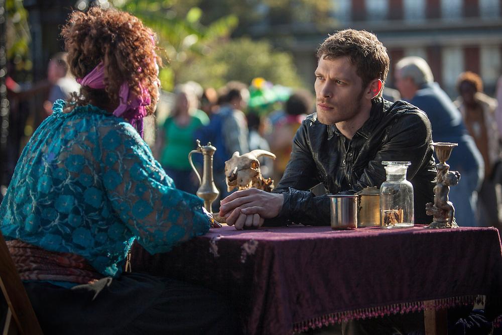 "Joseph Morgan as Klaus in the The Vampire Diaries spinoff ""The Originals"""