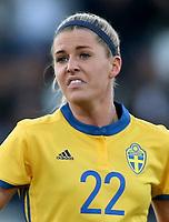International Women's Friendly Matchs 2019 / <br /> Womens's Algarve Cup Tournament 2019 - <br /> Portugal v Sweden 2-1 ( Municipal Stadium - Albufeira,Portugal ) - <br /> Olivia Schough of Sweden
