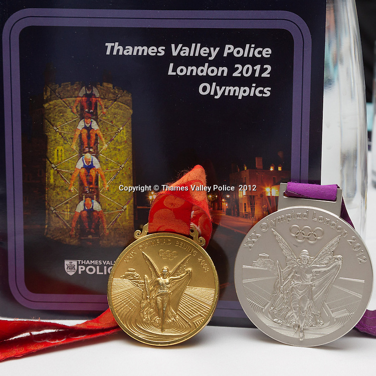 Sara Thornton, Chief Constable of Thames Valley Police, holds an awards ceremony to  recognise the effort and service given in support of the Olympic and Paralympic Events at the Eton Dorney Rowing Lake during the XXX Olympiad, London 2012. Windsor, UNITED KINGDOM. November 27 2012. <br /> Photo Credit: MDOC/Thames Valley Police<br /> &copy; Thames Valley Police 2012. All Rights Reserved. See instructions.