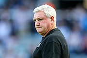 Newcastle United manager Steve Bruce during the Premier League match between Newcastle United and Watford at St. James's Park, Newcastle, England on 31 August 2019.