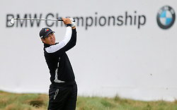 September 10, 2018 - Newtown Square, Pennsylvania, United States - Byeong Hun An tees off the 17th hole during the final round of the 2018 BMW Championship. (Credit Image: © Debby Wong/ZUMA Wire)
