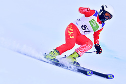 Women's Giant Slalom, WANG Qingyun, LW6/8-2, CHN at the WPAS_2019 Alpine Skiing World Championships, Kranjska Gora, Slovenia