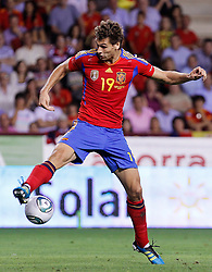 06.09.2011, Logrono, ESP, UEFA EURO 2012, Qualifikation, Spanien vs Lichtenstein, im Bild Spain's Fernando LLorente during Euro 2012 qualifier match.September 6,2011.. EXPA Pictures © 2011, PhotoCredit: EXPA/ Alterphoto/ Acero +++++ ATTENTION - OUT OF SPAIN/(ESP) +++++