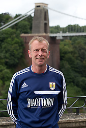 Bristol City team nutritionist Chris Derrick - Photo mandatory by-line: Kieran McManus/JMP - Tel: Mobile: 07966 386802 31/07/2013 - SPORT - FOOTBALL - Avon Gorge Hotel - Clifton Suspension bridge - Bristol -  Team Photo