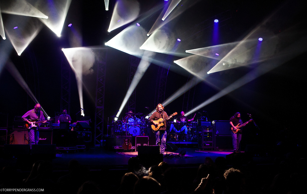 Widespread Panic performs on July 12, 2011 at the  Wiltern Theatre in Los Angeles, CA.