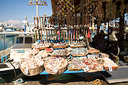 Shells on sale Rhodes town, Rhodes, Greece