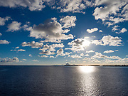 Tahaa,Bora Bora in Background, Tahaa, French Polynesia, South Pacific