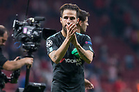 Chelsea's Cesc Fabregas during UEFA Champions League match between Atletico de Madrid and Chelsea at Wanda Metropolitano in Madrid, Spain September 27, 2017. (ALTERPHOTOS/Borja B.Hojas)