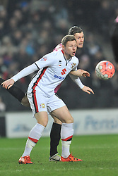 SIMON CHURCH MK DONS, MK Dons v Northampton Town, FA Cup Emirates FA Cup Third round Repay, Stadium MK, Tuesday 19th January 2016