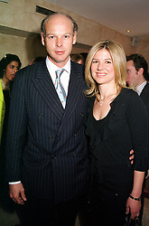 The HON.CHARLES & MRS HAMBRO, he is the son of banker<br />  Lord Hambro at a party in London on 11th July 2000.OGF 12<br /> © Desmond O'Neill Features:- 020 8971 9600<br />    10 Victoria Mews, London.  SW18 3PY <br /> www.donfeatures.com   photos@donfeatures.com<br /> MINIMUM REPRODUCTION FEE AS AGREED.<br /> PHOTOGRAPH BY DOMINIC O'NEILL