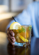 The Tarheel Tea, served at the bar at The Carolina Inn.