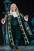 Richard Gauntlett as the Lord Chancellor<br />