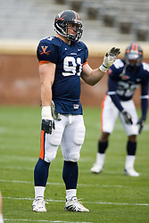 Virginia Cavaliers DE Chris Long (91).  The University of Virginia Football Team played their Spring game at Scott Stadium in Charlottesville, VA on April 14, 2007.