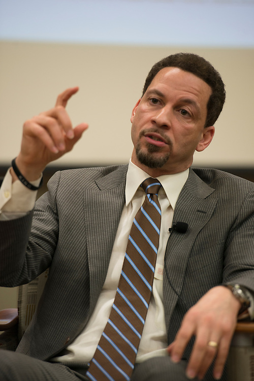 "ESPN Sports Reporter Chris Broussard, speaks about his fellowship with the Lord and the organization K.I.N.G. which aims to empower men ""through the Lord Jesus Christ""."