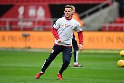 Joe Bryan of Bristol City warms up  - Mandatory by-line: Joe Meredith/JMP - 10/02/2018 - FOOTBALL - Ashton Gate Stadium - Bristol, England - Bristol City v Sunderland - Sky Bet Championship