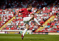 Photo: Leigh Quinnell.<br /> Bristol City v Rotherham United. Coca Cola League 1. 05/05/2007. David Noble fires home his first goal for Bristol City.
