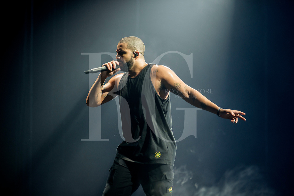 Drake performs at The SSE Hydro on March 23, 2017 in Glasgow