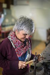 Lisia Barbieri, na Criativitá, escola de Joalheria. Foto: Jefferson Bernardes/ Agência Preview