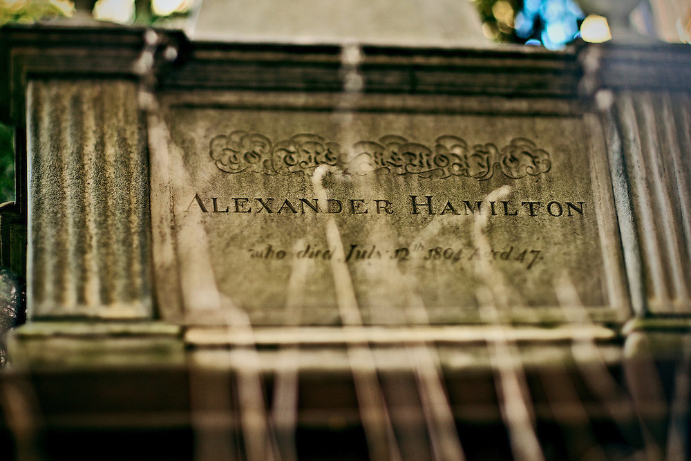 Tomb of Alexander Hamilton, Trinity Church, New York, NY, US